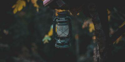 lamp buiten aan huis