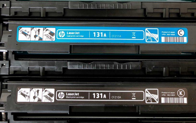 inkt voor de printer